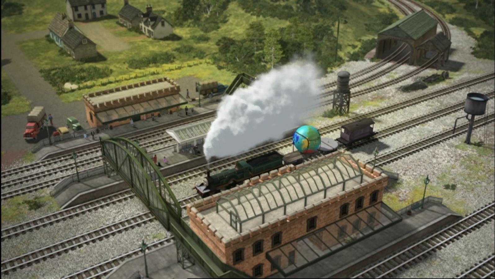 Skarloey Engine Sheds