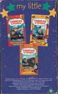 My Little Thomas & Friends Volume 1 2002 VHS Boxset Back