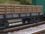 長物車、平台貨車、積載貨車