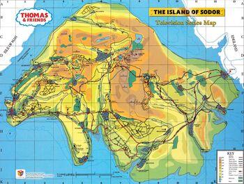 Sam Wilkinson's map