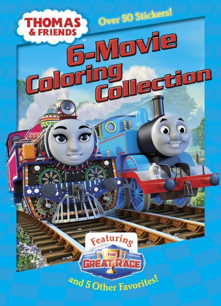 6-Movie Coloring Collection
