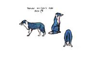 McColls Dog CGI Sketch Design 3