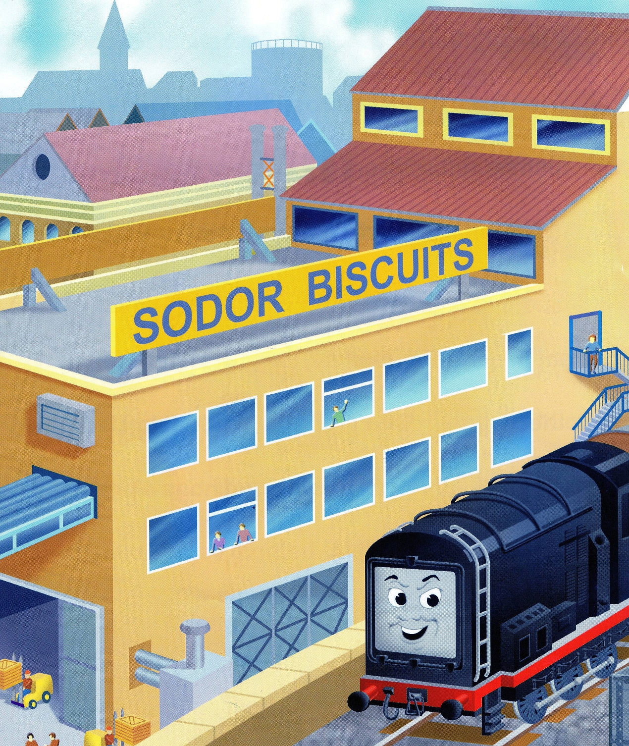 Sodor Biscuits