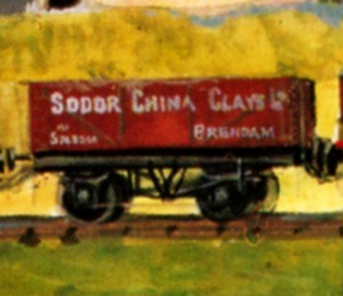 Sodor China Clay Rolling Stock