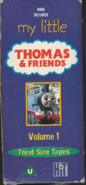 My Little Thomas & Friends Volume 1 2002 VHS Boxset Spine