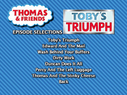 Toby'sTriumphSouthAfricanDVDEpisodeSelectionmenu