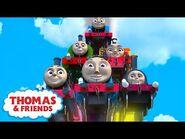 Thomas & Friends™ - Rainbow Engines! - Colors Music Video - Thomas the Tank Engine - Kids Cartoon