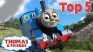Thomas & Friends™ Jumps! Thomas Top 5 Best of Thomas Highlights Kids Cartoon