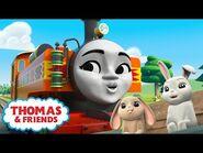 Thomas & Friends™ - Nia and the Spring Bunnies! - NEW - The Sodor Springtime Parade - Kids Cartoon