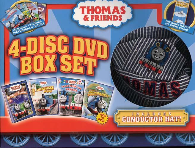 4-Disc DVD Box Set