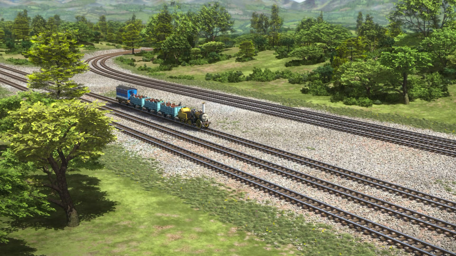 Standard and Narrow Gauge Field Runby