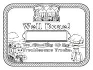TroublesomeTrucksRoundupCertificate(Coloring)