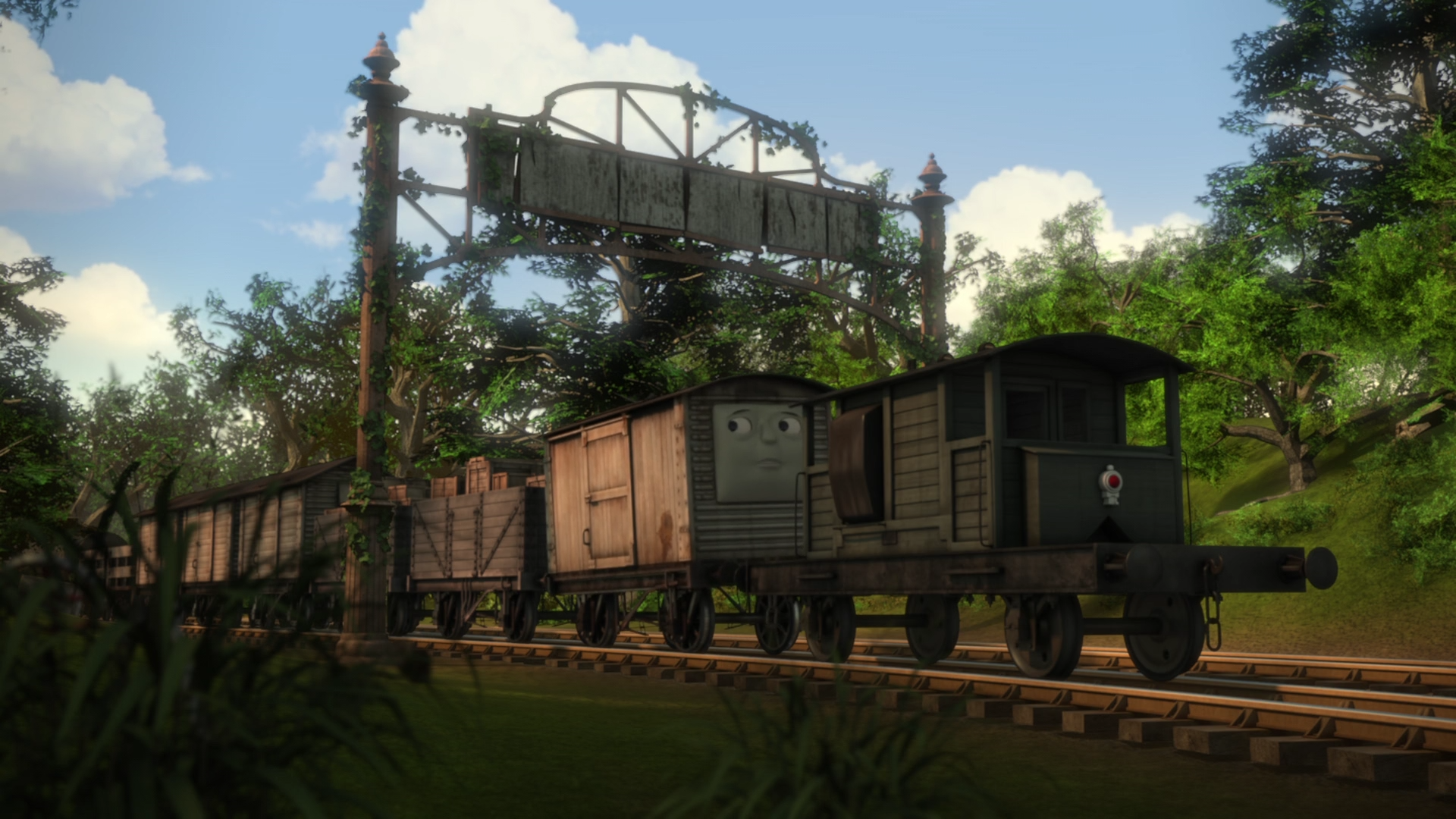 The Experimental Engines Yard