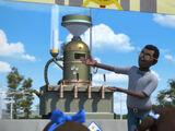 Dr. Holyfield's Milkshake Machine