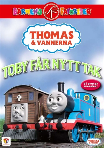 Toby Gets a New Roof (Swedish DVD)