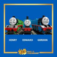 Henry,EdwardandGordon75thAnniversarypromo