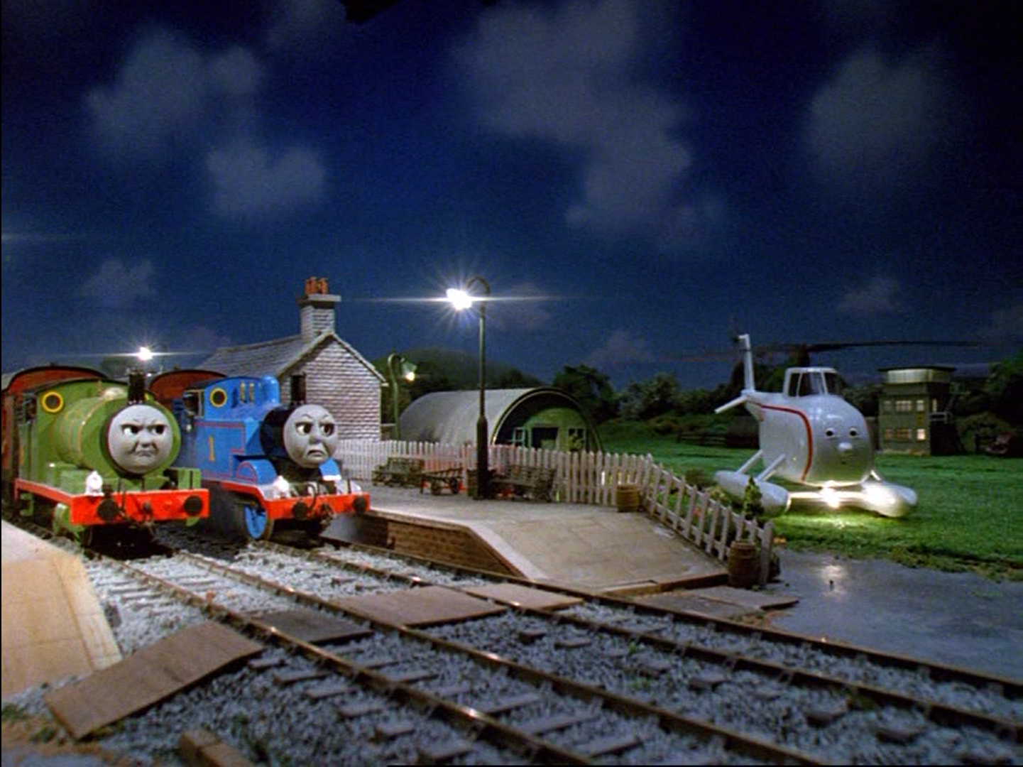 Thomas, Percy and the Post Train