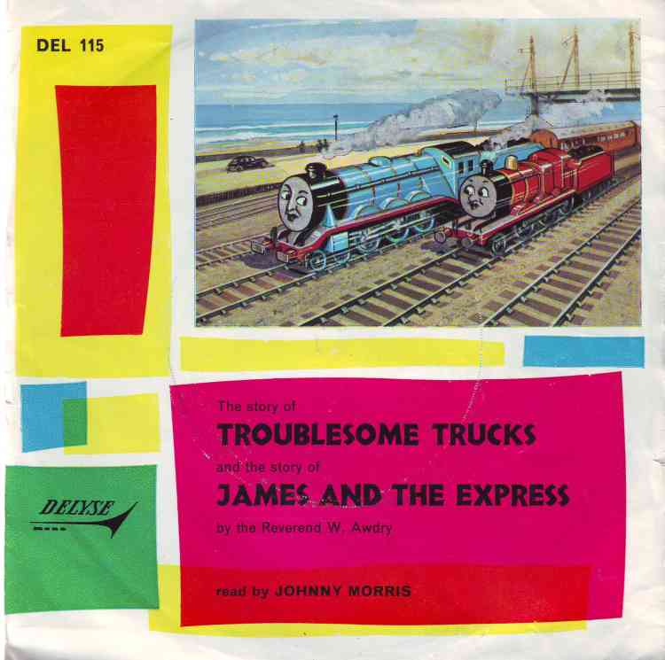 Troublesome Trucks and James and the Express