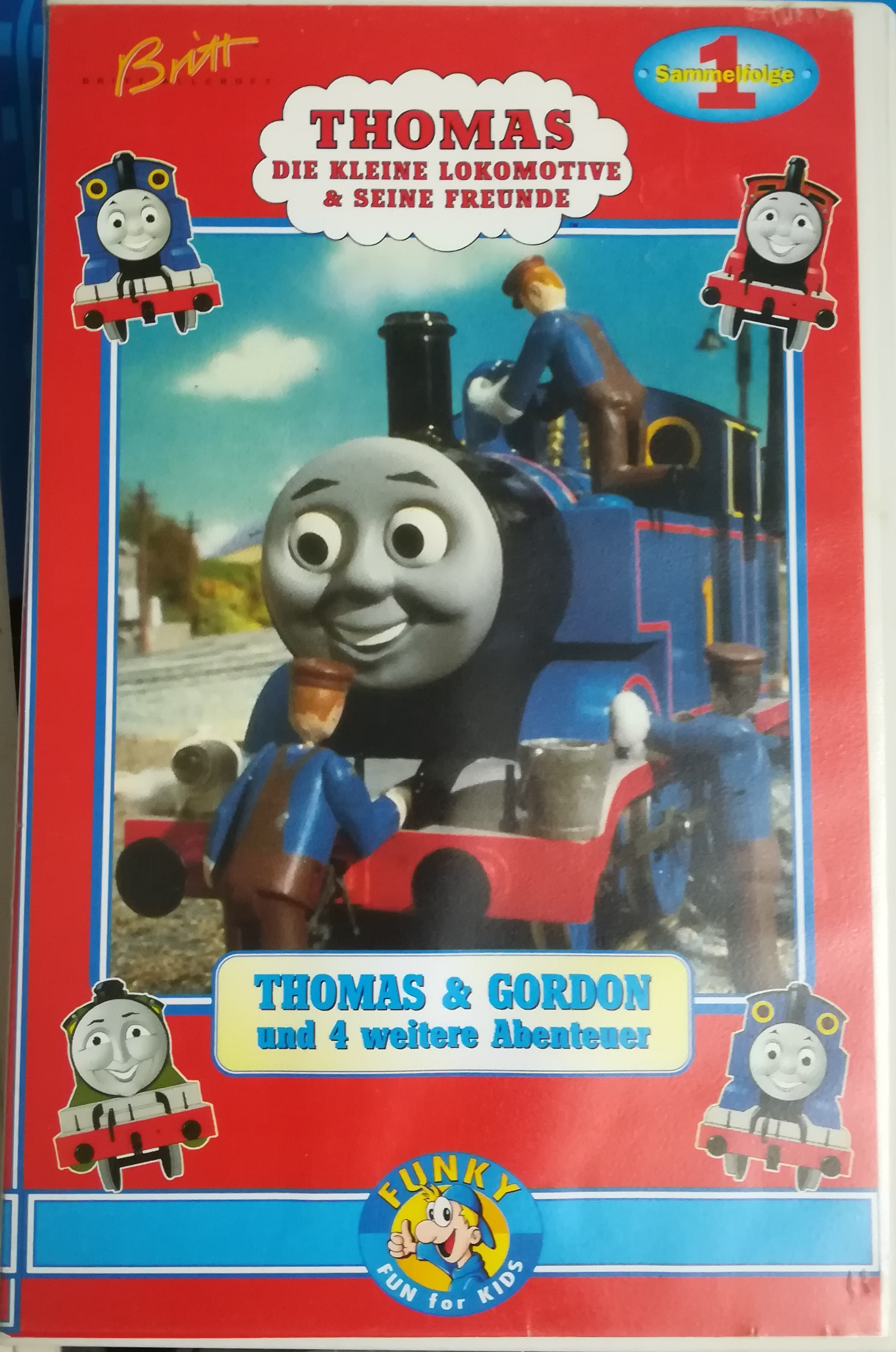 Thomas and Gordon and 4 Other Adventures