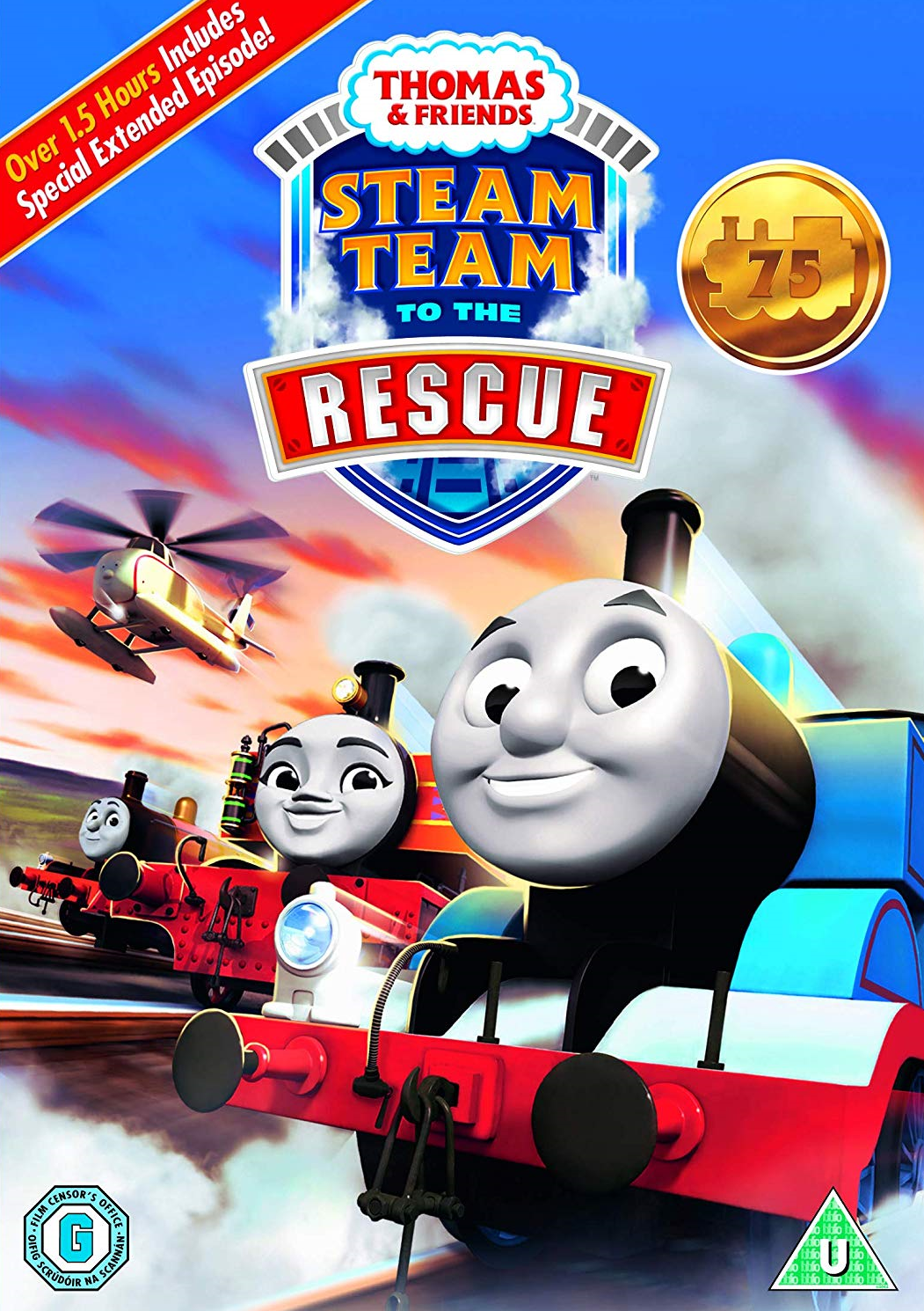 Steam Team to the Rescue (DVD)