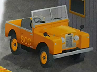 Sodor China Clay Company Land Rover