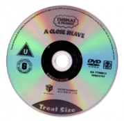 ACloseShave(DVD)disc