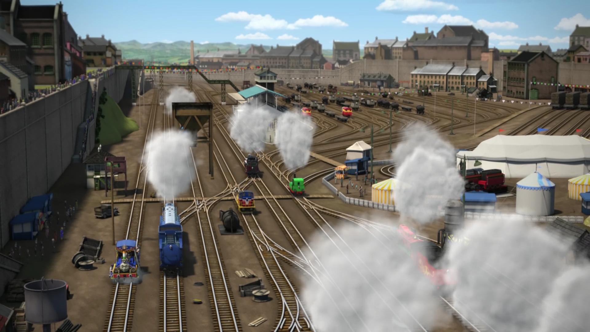 The Great Railway Show Yard