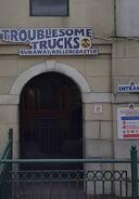 TroublesomeTrucksRunawayCoaster2016Sign