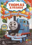 Peep!Peep!Hurry!ThreeCheersforThomasAustraliaDVDCover