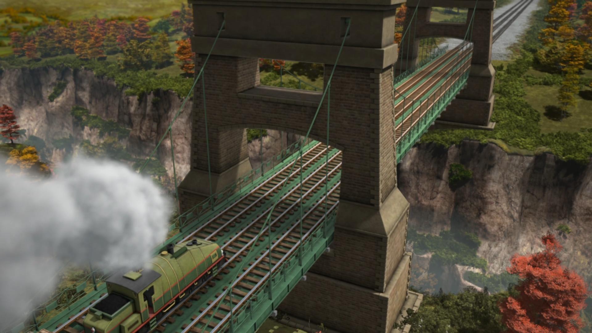 Sodor Suspension Bridge