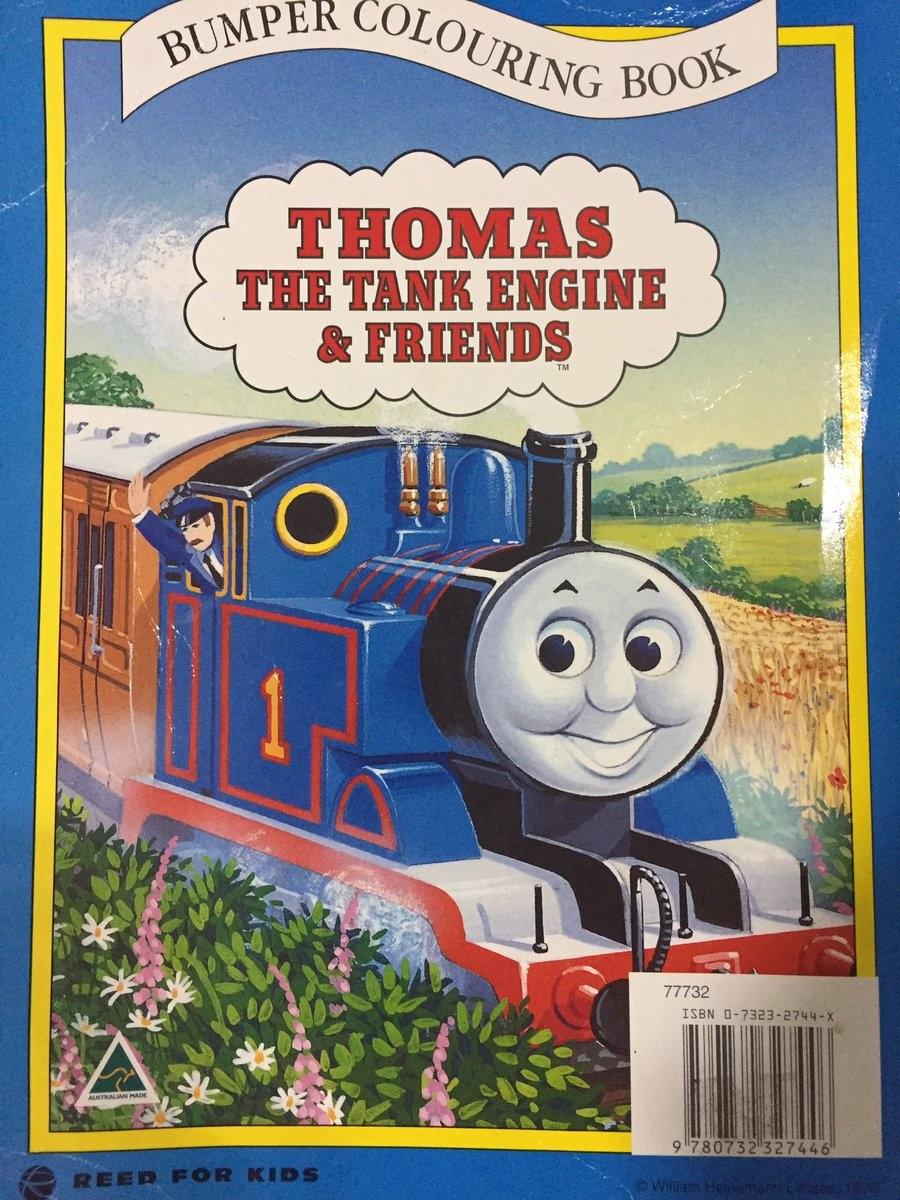 Bumper Colouring Book