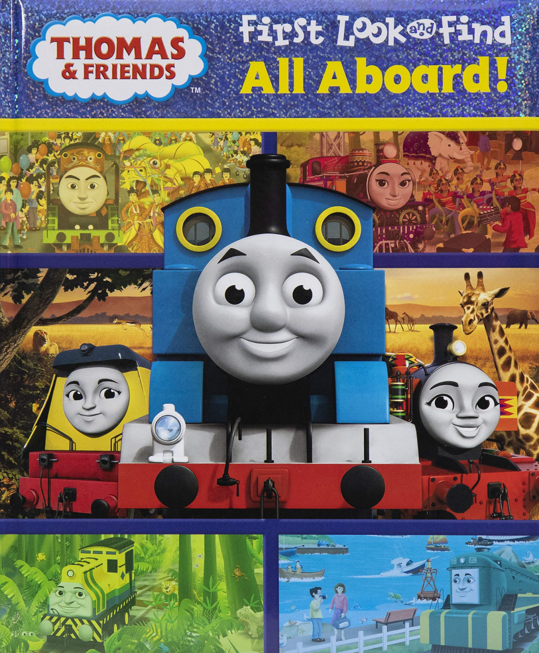 All Aboard! (First Look and Find book)