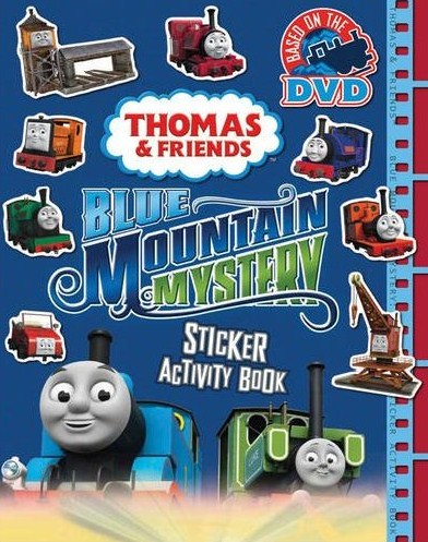 Blue Mountain Mystery: Sticker Activity Book