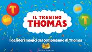 Thomas'MagicalBirthdayWishesItalianLogo