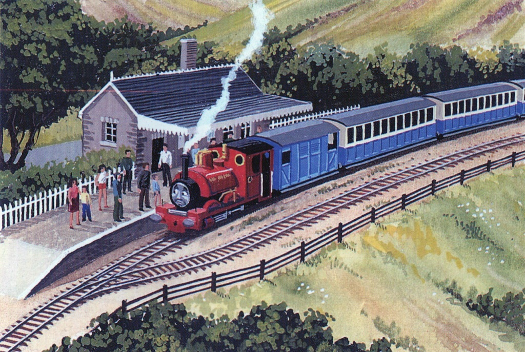 Skarloey (station)