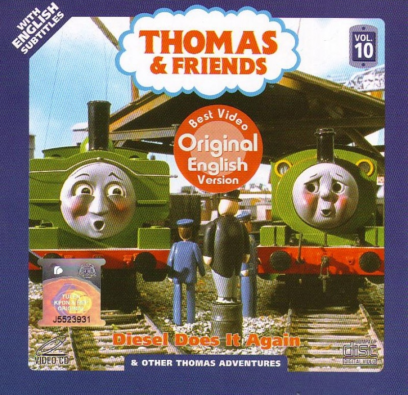 Diesel Does it Again and Other Thomas Adventures