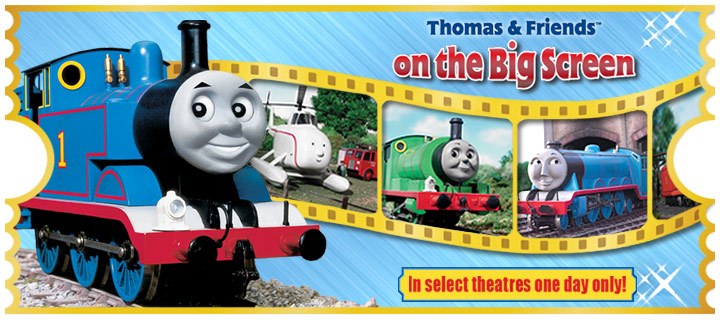 Thomas and Friends on the Big Screen