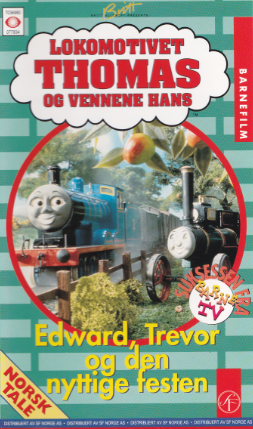 Edward, Trevor and the Useful Party (Norwegian VHS)