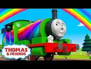 Thomas & Friends™ - Percy's Rainbow Surprise! - NEW - The Sodor Springtime Parade - Kids Cartoon