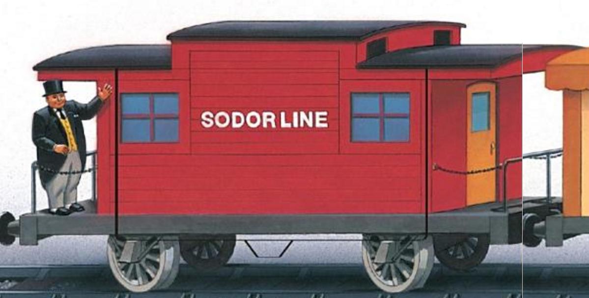 Sodor Line Cabooses