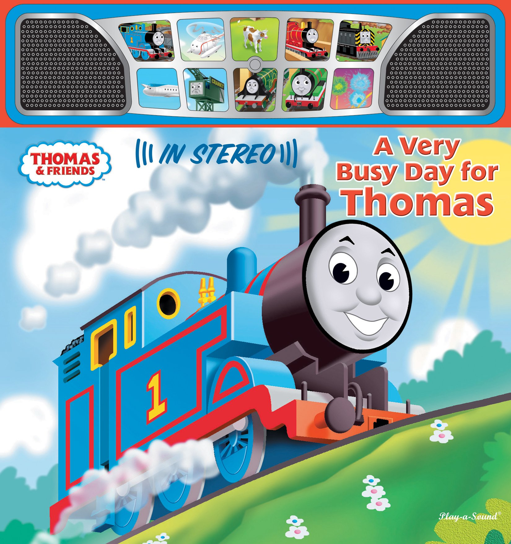A Very Busy Day for Thomas