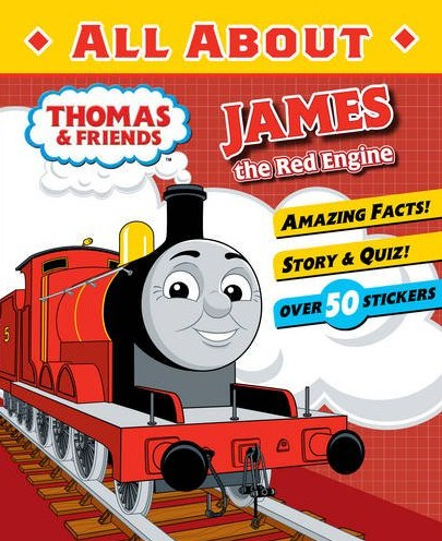 All About James the Red Engine