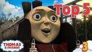 Thomas & Friends UK™ Top 5 Silliest Characters! Best of Thomas Highlights Kids Cartoon