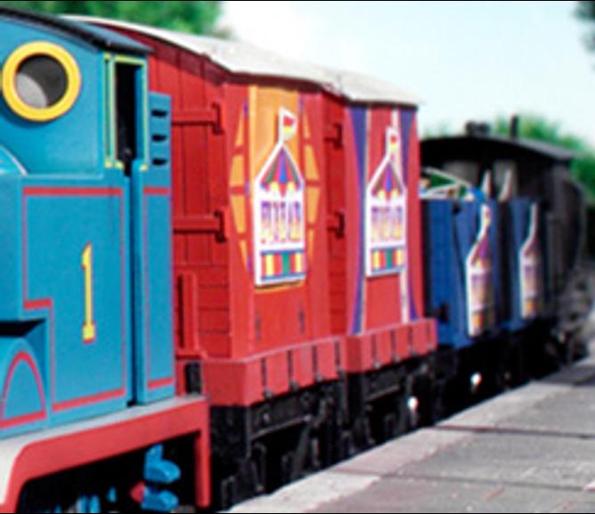 Funfair Train