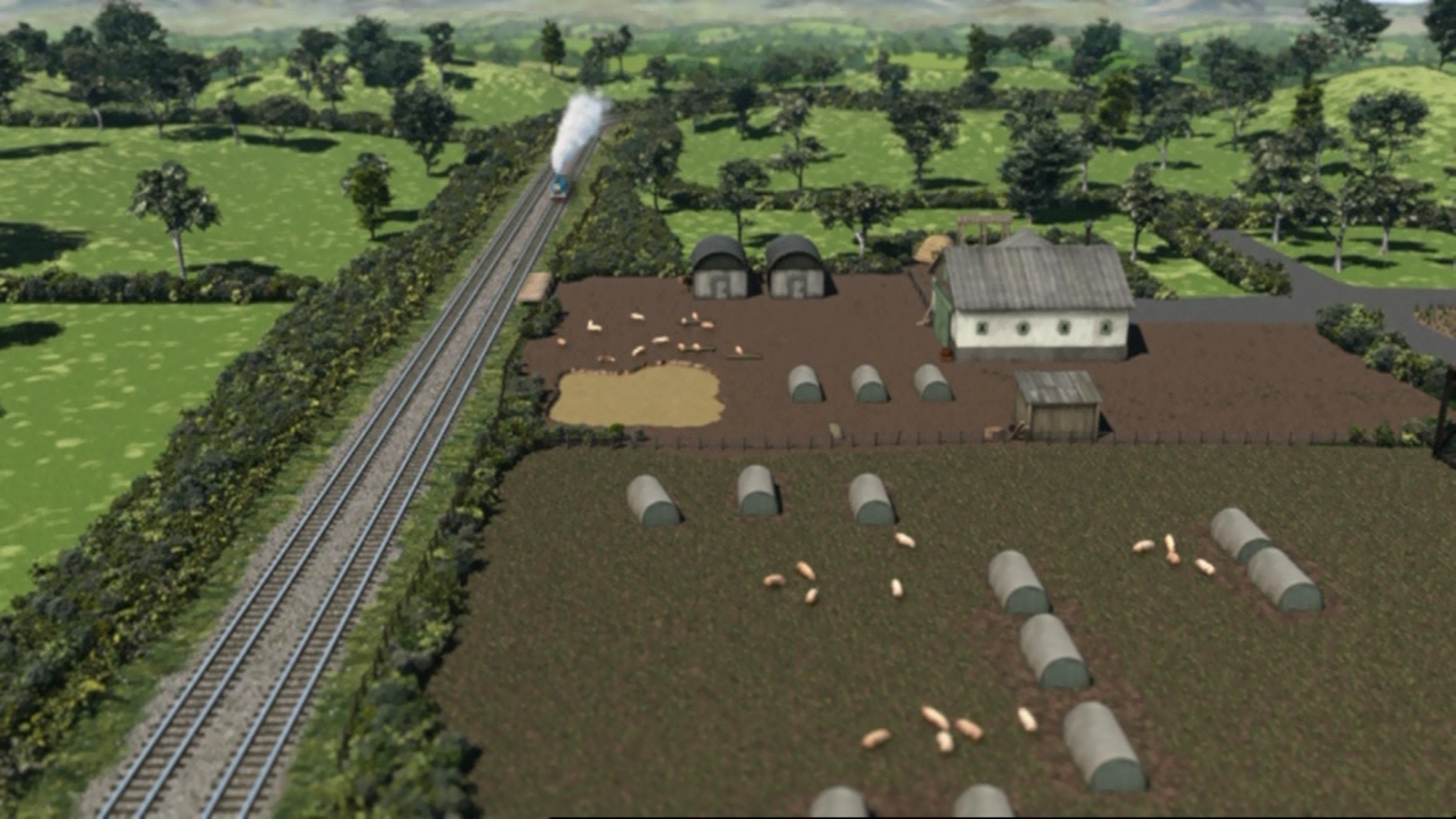Farmer Trotter's Pig Farm