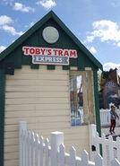 Toby'sTramExpressSign