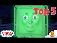 Thomas & Friends UK - Top 5 Naughtiest Moments! - Best of Thomas Highlights - Kids Cartoon