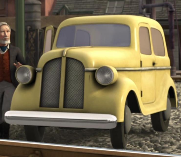 Sir Robert Norramby's Car