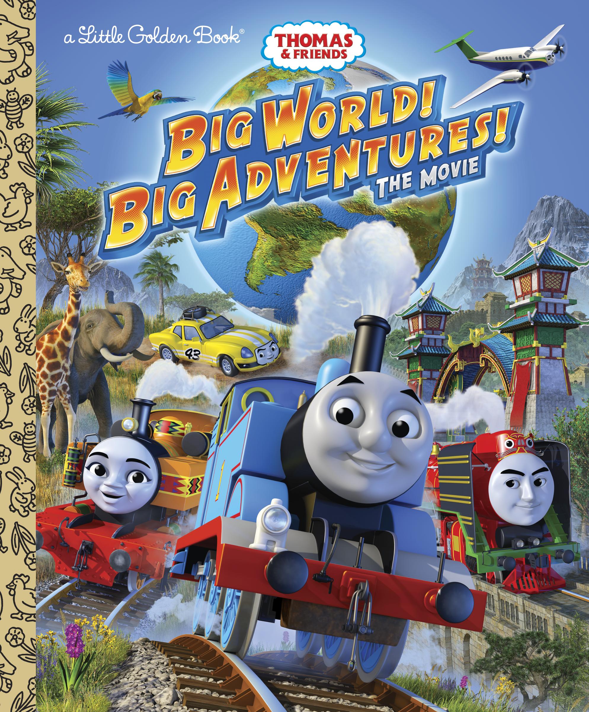 Big World! Big Adventures! (Golden Book)