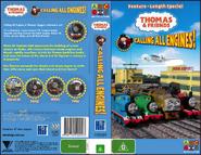 Thomas&FriendsCallingAllEngines AustralianVHSFullCover
